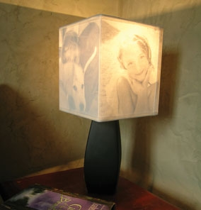 Light up your family memories with a photo lamp shade weekend diy looking for a fun diy project to do this weekend check out this creative lamp shade project aloadofball Gallery