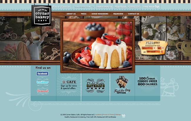 trendy bakery website design inspiration duoparadigms public rh duoparadigms com