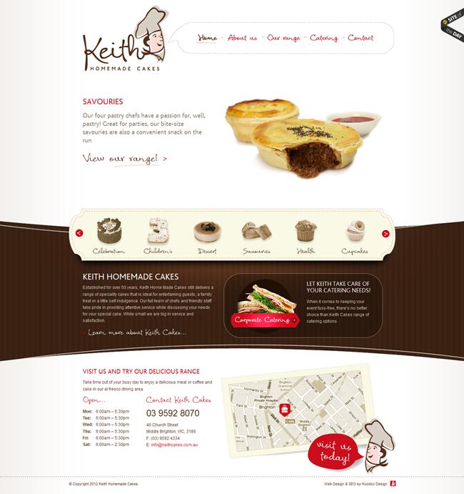 Trendy Bakery Website Design Inspiration - DuoParadigms Public ...