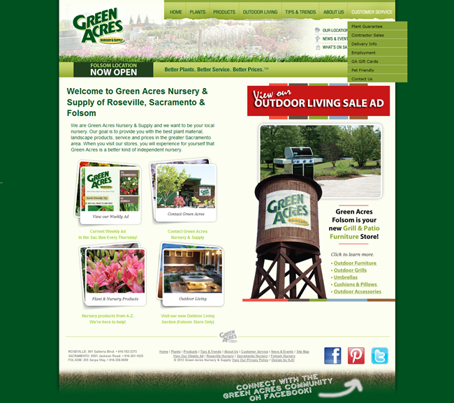 Plant Nursery Website Designs