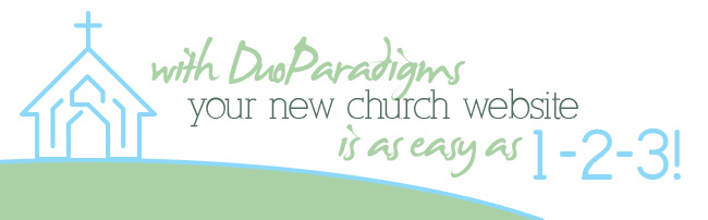 Get a New Church Website Design