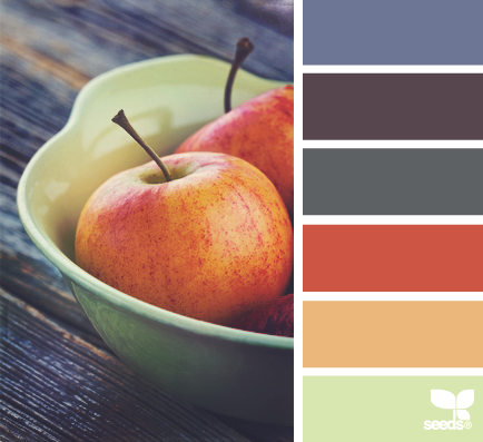10 color palettes and hex codes perfect for the autumn fall season