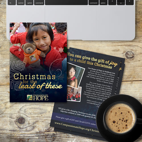 Compassionate Hope Christmas Postcards