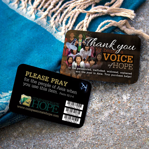 Compassionate Hope Hang Tags