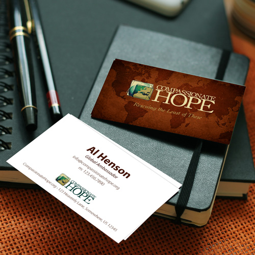 Compassionate Hope Business Cards