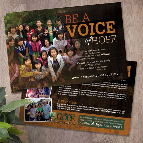 Compassionate Hope Postcards