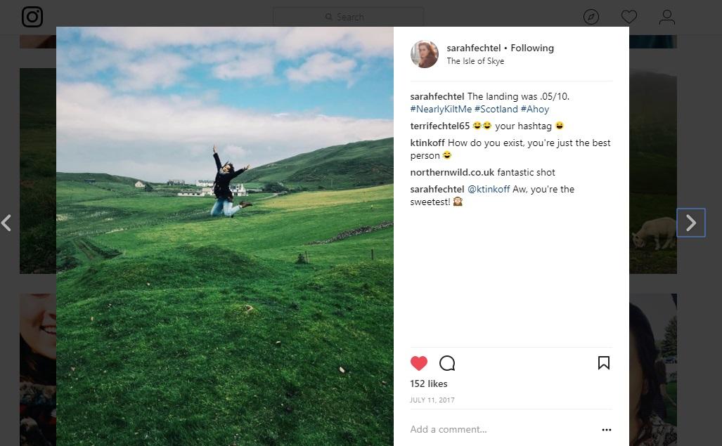Sarah Fechtel Instagram